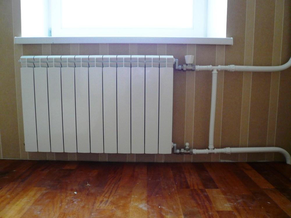32kp2 - Установка радиаторов отопления
