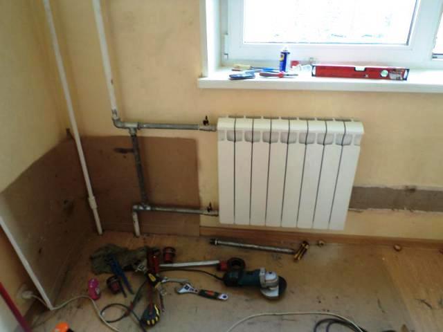 podkluchenie radiatorov dlya otopleniya - Отопление