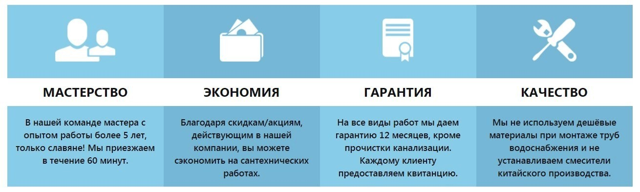 Услуги сантехника Золотые Ворота